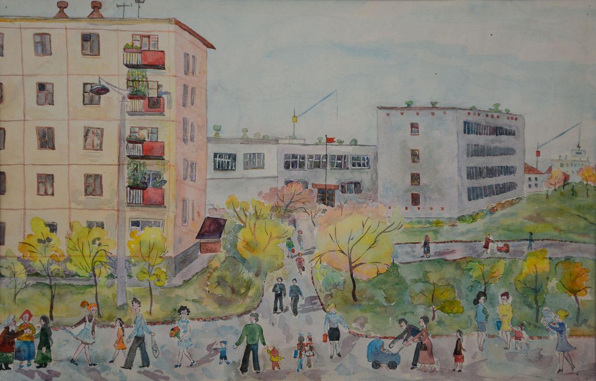 Михайлина Оля, 3 кл.,выпуск 1973г.