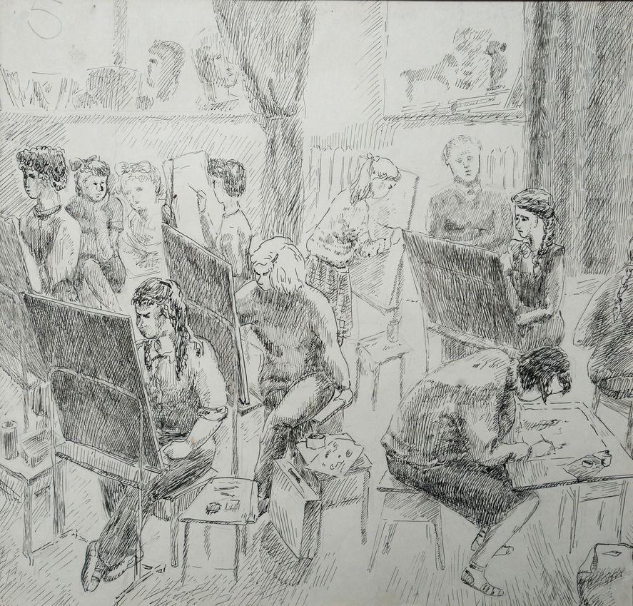 Булатова Надя, 4 кл.,выпуск 1987г.