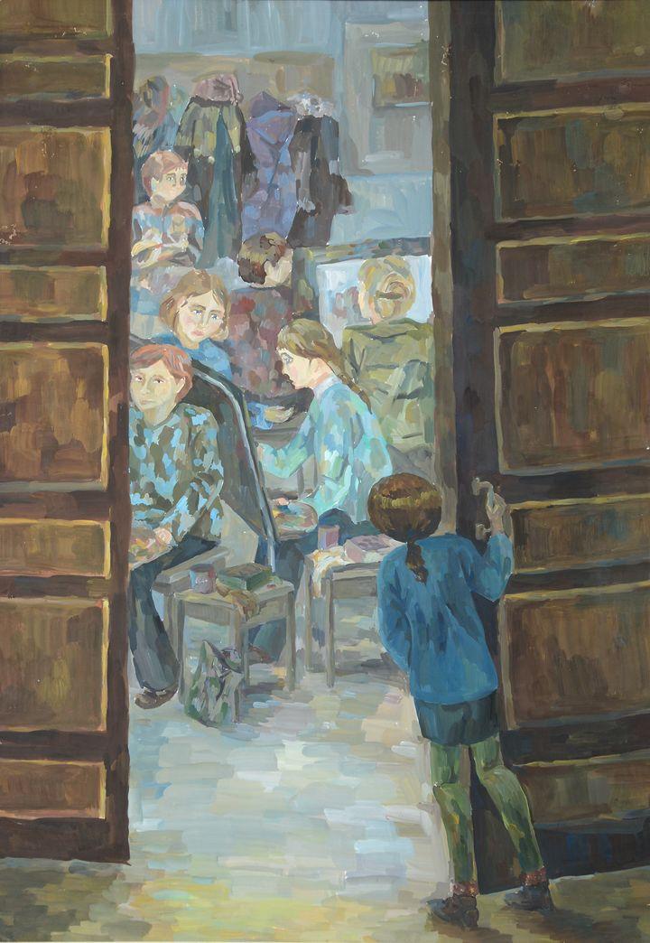 Белова Юля, 3 кл.,выпуск 2001г.